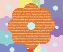 Grafik, Wortgrafik, Erklärung, Digitale kunst