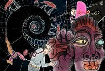 Stimmenhören, Einbildungsspirale, Paranoia, Lauschangriff