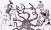 Dodo, Tauziehen, Verstand, Verlusttierchen