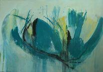Acrylmalerei, Abstrakt, Malerei, Acryl auf leinwand