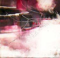 Abstrakt, Acryl auf leinwand, Schweigen, Malerei