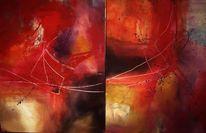 Malerei, Abstrakt, Harmonie