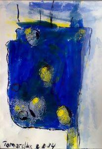 Gefühl, Blau, Tag, Malerei