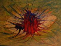 Abstrakt, Acrylmalerei, Tod, Leben