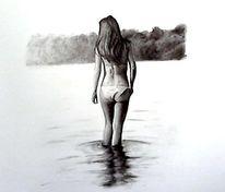 Zeichnung, Kohlezeichnung, Zeichnungen