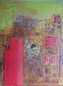 Rot, Braun, Grün, Malerei