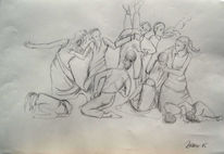 Moderner tanz, Tanz, Tanzgruppe, Ausdruckstanz