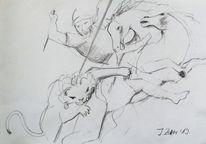 Peter paul rubens, Pferde, Tiere, Zeichnungen