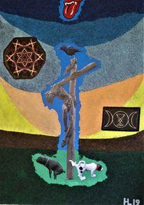 Jesus, Hund, Wicca, Symbol