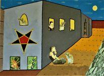 Ratte, Nostradamus, Junge frau, Pentagramm