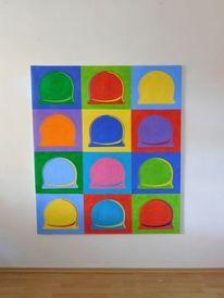 Moderne kunst, Zeitgenössisch, Modern art painting, Halle saale