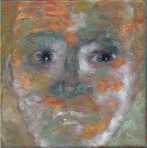 Ölmalerei, Malerei, Gesicht, Kopf