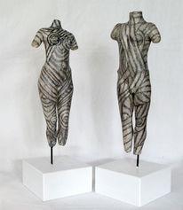 Menschen, Terrakotta, Mann, Modelliert