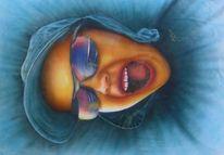 Portrait, Menschen, Airbrush, Malerei