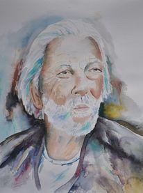 Fischer, Portrait, Menschen, Figural