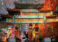 Chinatown, Manchester, Outsider art, Digitale kunst