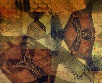 Dreibastigkeit, Dreifaltigkeit, Digitale kunst, Digital