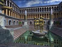 Bronze, Gebäude, Skulptur, Geschichte