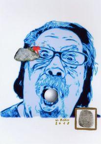Der anschlag, Fingerabdruck, Fotografie, Digitale kunst