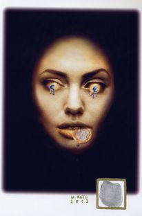 Gesicht, Euro, Digitale kunst, 2013