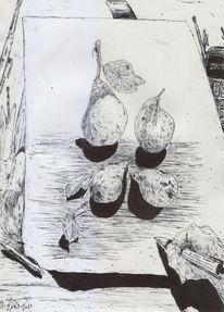 Birne, Alte meister, Kitsch, Obst