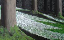 Moos, Wald, Rinde, Baum