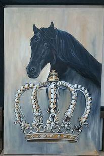 Friese, Pferde, Krone, Malerei
