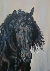 Pferdekopf, Pferde, Friese, Malerei