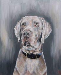 Jagdhund, Hund, Malerei,