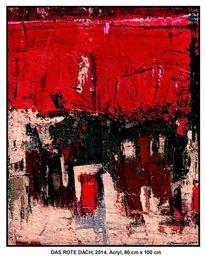 Hamburg, Rot schwarz, Haus, Raumgestaltung