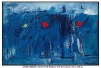 Malerei, Acrylmalerei, Reinbek, Wolken