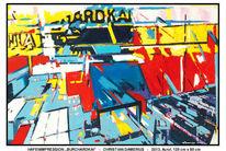 Malerei, Deutschland, Acrylmalerei, Formen