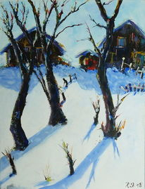 Wald, Winter, Berge, Natur
