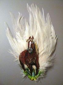 Dezember, Feder, Pferde, Malerei 7