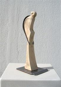 Abstrakte kunst, Holzskulptur, Plastiken, Holzskulpturen