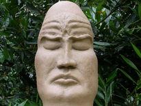 Keramik, Natur, Plastik, Mönch