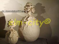 Skulptur, Objekt, Tumulus, Fabelwesen