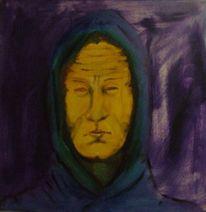 Kämpfer, Menschen, Ölmalerei, Malerei