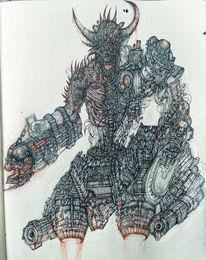 Doomhunter, Dämon, Hölle, Höllische maschine