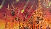 Hell, Malerei