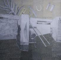 Raum, Baum, Traum, Mischtechnik