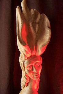 Menschen, Stamm, Holz, Kunsthandwerk