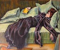 Ölmalerei, Klassisch, Figural, Malerei