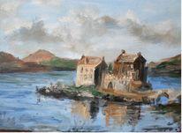 Romantik, See, Schottland, Ruine