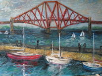 See, Schottland, Fluss, Brücke