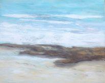 Meer, Holz, Wasser, Strand