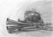 Helm, Horn, Preußisch, Signalhorn