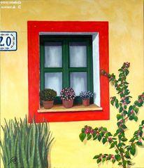 Italien, Spanisch, Mediterran, Fenster