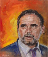 Portrait, Porträtmalerei, Malerei, Menschen