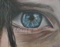 Acrylmalerei, Augen, Malen, Malerei